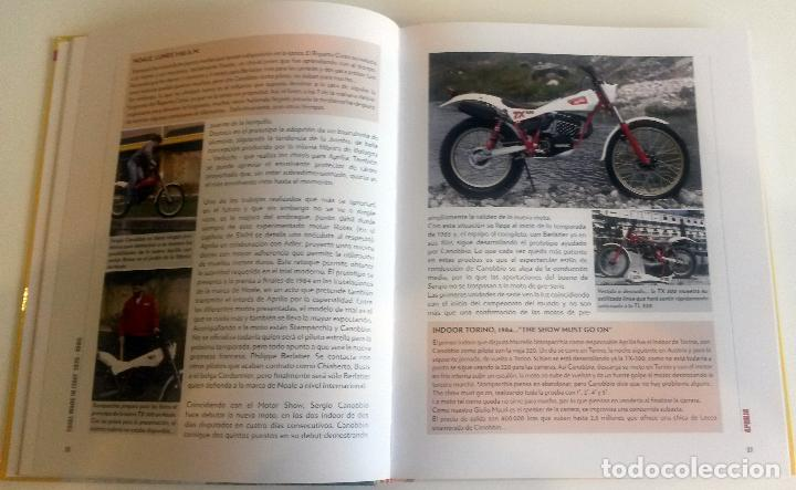 Coches y Motocicletas: LIBRO: TRIAL MADE IN ITALY - 1975 / 1985. - Foto 3 - 74463219