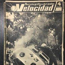 Coches y Motocicletas: REVISTA VELOCIDAD NUM. 6 1960. Lote 74612919