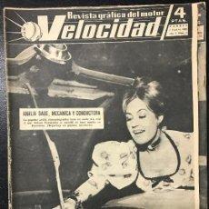 Coches y Motocicletas: REVISTA VELOCIDAD NUM. 7 1960. Lote 74613055