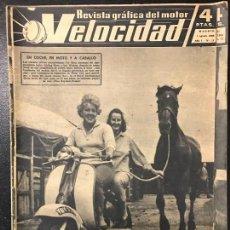 Coches y Motocicletas: REVISTA VELOCIDAD NUM 11 1960. Lote 74613583
