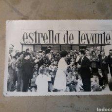 Coches y Motocicletas: FOTO CIRCUITO 1965 REGIÓN DE MURCIA. CON PUBLICIDAD ESTRELLA DE LEVANTE.. Lote 74692651