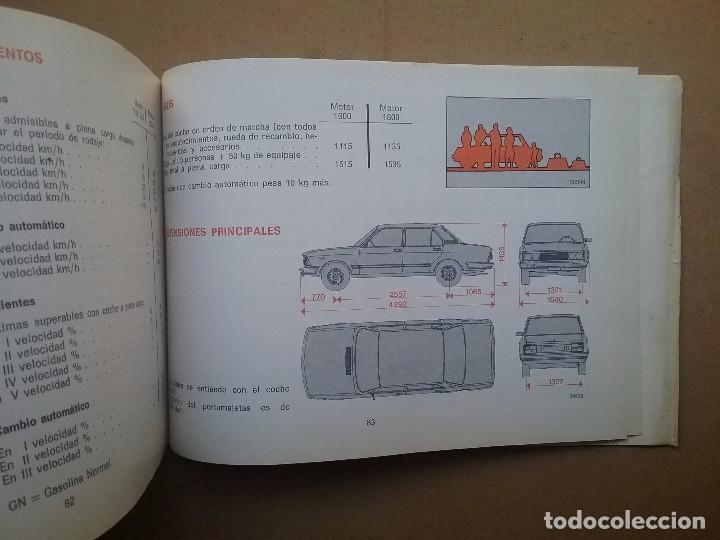 Coches y Motocicletas: SEAT 132 COCHE MANUAL ORIGINAL AÑO 1978 - Foto 3 - 74702155