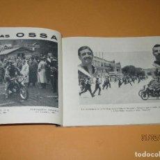 Coches y Motocicletas: PROGRAMA OFICIAL 24 HORAS MOTOCICLISTAS DE MONTJUICH 7-8 DE JULIO DE 1956. Lote 75265863
