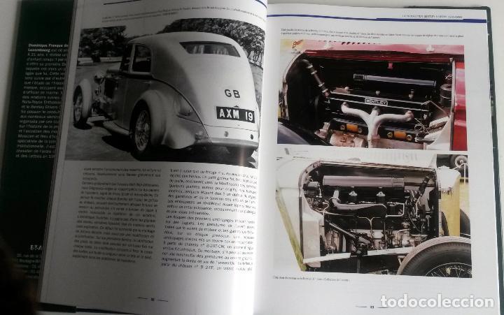 Coches y Motocicletas: LIBRO BENTLEY 1931 - 1965, LA RELÈVE DUN DÉFI. - Foto 2 - 75404987