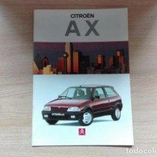Coches y Motocicletas: CITROËN AX - CATÁLOGO COCHE (1994) - ESPAÑOL. Lote 75422279