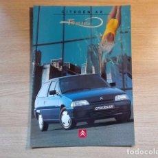 Coches y Motocicletas: CITROËN AX TONIC - CATÁLOGO COCHE (1996) - ESPAÑOL. Lote 110719612
