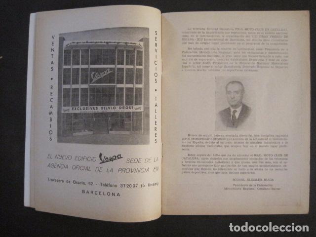 Coches y Motocicletas: CARRERAS MOTOCICLETAS -VIII GRAN PREMIO DE ESPAÑA-MONTJUICH BARCELONA-AÑO 1958-VER FOTOS - (V-8917) - Foto 4 - 75530967