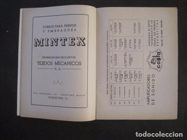 Coches y Motocicletas: CARRERAS MOTOCICLETAS -VIII GRAN PREMIO DE ESPAÑA-MONTJUICH BARCELONA-AÑO 1958-VER FOTOS - (V-8917) - Foto 6 - 75530967