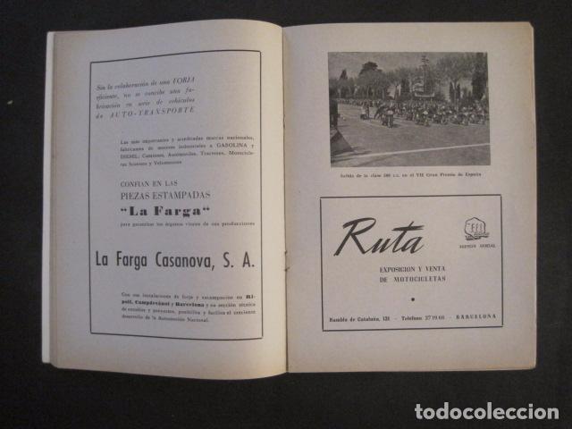 Coches y Motocicletas: CARRERAS MOTOCICLETAS -VIII GRAN PREMIO DE ESPAÑA-MONTJUICH BARCELONA-AÑO 1958-VER FOTOS - (V-8917) - Foto 7 - 75530967