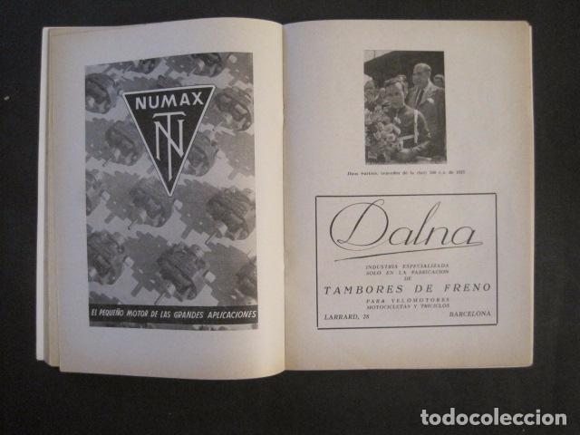 Coches y Motocicletas: CARRERAS MOTOCICLETAS -VIII GRAN PREMIO DE ESPAÑA-MONTJUICH BARCELONA-AÑO 1958-VER FOTOS - (V-8917) - Foto 9 - 75530967