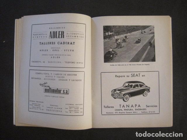 Coches y Motocicletas: CARRERAS MOTOCICLETAS -VIII GRAN PREMIO DE ESPAÑA-MONTJUICH BARCELONA-AÑO 1958-VER FOTOS - (V-8917) - Foto 11 - 75530967