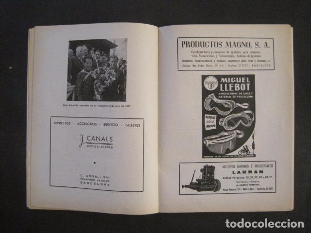 Coches y Motocicletas: CARRERAS MOTOCICLETAS -VIII GRAN PREMIO DE ESPAÑA-MONTJUICH BARCELONA-AÑO 1958-VER FOTOS - (V-8917) - Foto 12 - 75530967