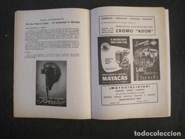 Coches y Motocicletas: CARRERAS MOTOCICLETAS -VIII GRAN PREMIO DE ESPAÑA-MONTJUICH BARCELONA-AÑO 1958-VER FOTOS - (V-8917) - Foto 13 - 75530967