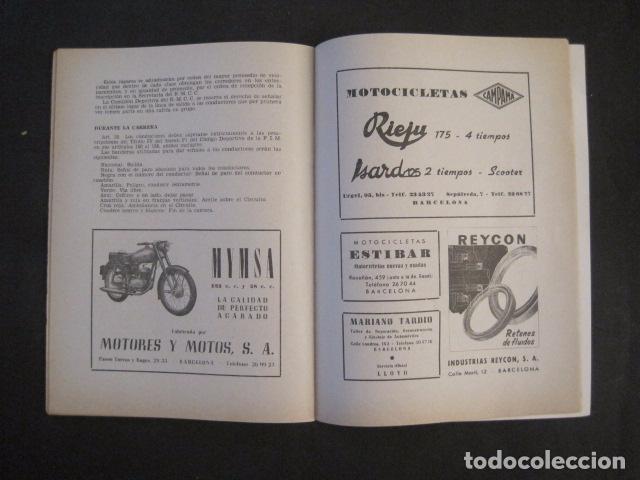 Coches y Motocicletas: CARRERAS MOTOCICLETAS -VIII GRAN PREMIO DE ESPAÑA-MONTJUICH BARCELONA-AÑO 1958-VER FOTOS - (V-8917) - Foto 15 - 75530967