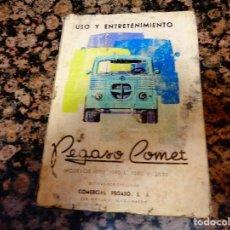 Coches y Motocicletas: USO Y ENTRETENIMIENTO CAMION PEGASO COMET. Lote 75619623