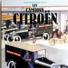Coches y Motocicletas: LIBRO LES CAMIONS CITROËN.. Lote 75695791