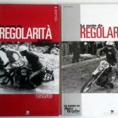 Coches y Motocicletas: LIBROS (2) LE MOTO DA REGOLARITÀ ITALIANE, 1950/69 - 1970/76.. Lote 84609895