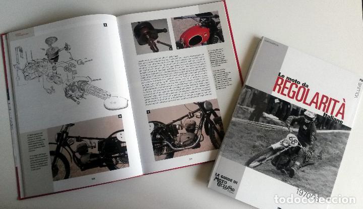 Coches y Motocicletas: LIBROS (2) LE MOTO DA REGOLARITÀ ITALIANE, 1950/69 - 1970/76. - Foto 3 - 84609895