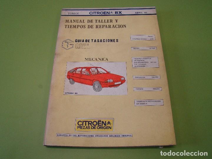 manual de taller y tiempos de reparaci n del ci comprar cat logos rh todocoleccion net manual despiece citroen bx manual citroen bx pdf