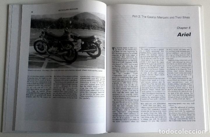 Coches y Motocicletas: LIBRO: THE BRITISH CLASSIC BIKE GUIDE. - Foto 2 - 76325315