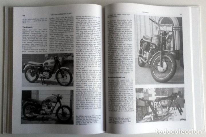 Coches y Motocicletas: LIBRO: THE BRITISH CLASSIC BIKE GUIDE. - Foto 3 - 76325315