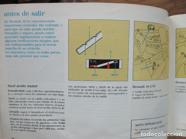 Coches y Motocicletas: CATÁLOGO RENAULT 18. 1983. - Foto 4 - 76472351