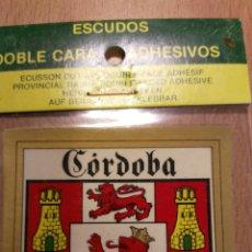 Coches y Motocicletas: ESCUDO PARA COCHE. CORDOBA.. Lote 76570889