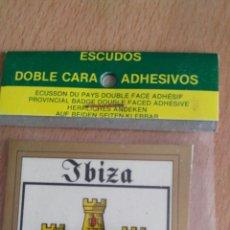 Coches y Motocicletas: ESCUDO IBIZA. PARA COCHE. Lote 76844547