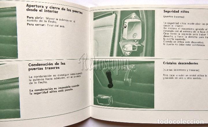 Coches y Motocicletas: CATALOGO MANUAL DE CONDUCCION Y ENTRETENIMIENTO CONSERVACION RENAULT 6 AÑO 1972 2ª EDICIÓN - Foto 2 - 77311605