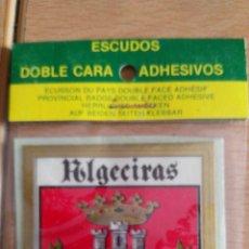 Coches y Motocicletas: ESCUDO DE ALGECIRAS. PARA COCHE. Lote 77399555