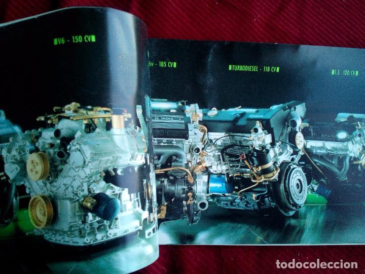 Coches y Motocicletas: antiguo catalogo LANCIA THEMA TURBO 16V AÑO 1988 - Foto 3 - 160090012