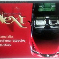 Coches y Motocicletas: NEXT RENAULT GAMA ALTA - BOLETIN OFICIAL Nº 3 - ENERO 2000. TEXTO EN ESPAÑOL.. Lote 77818213