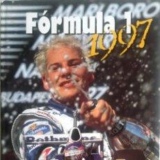 Coches y Motocicletas: LIBRO: FÓRMULA 1 1997 - TEXTO EN PORTUGUÉS.. Lote 77823825