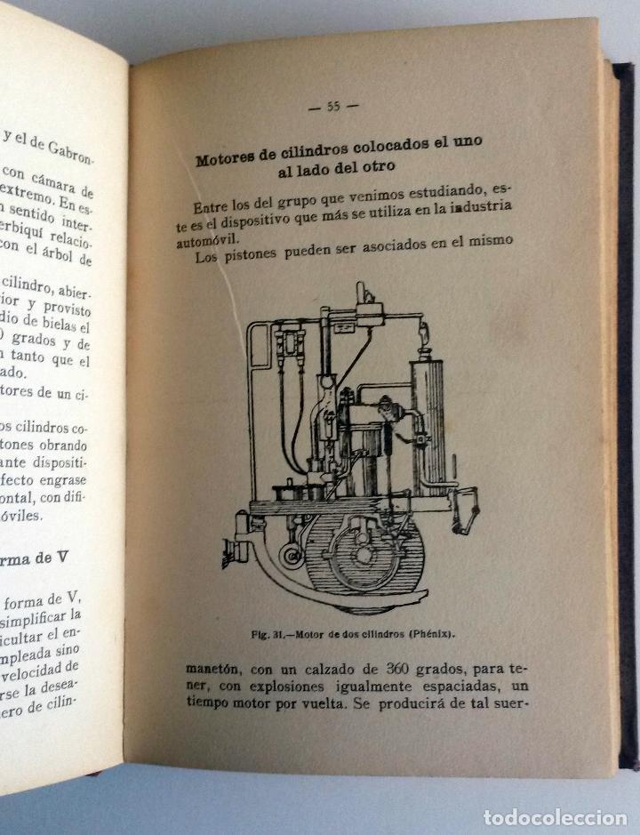 Coches y Motocicletas: LIBRO: COMO SE CONSTRUYE UN AUTOMÓVIL. Año 1910. - Foto 3 - 78152517
