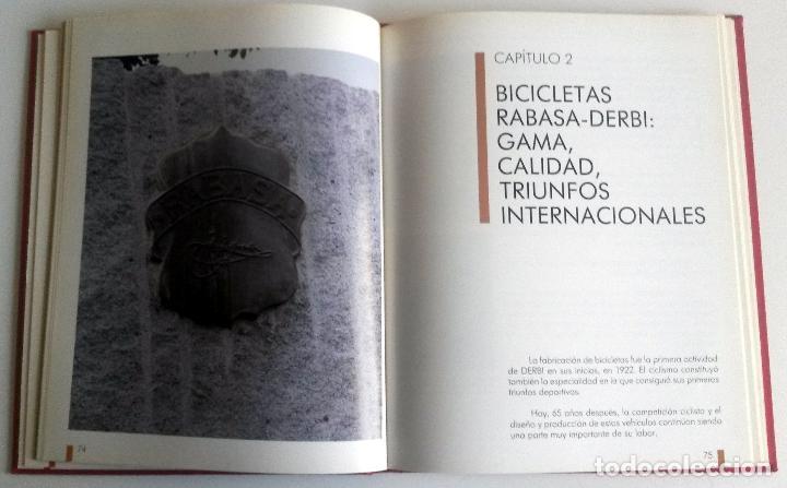 Coches y Motocicletas: LIBRO RABASA DERBI, 1922 - 1987. TEXTO EN CASTELLANO. - Foto 3 - 78154545