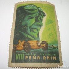 Coches y Motocicletas: PEÑA RHIN VIII GRAN PREMIO AÑO. 1.946. Lote 78175361
