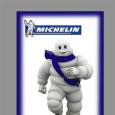 Coches y Motocicletas: AZULEJO 40X25 PUBLICIDAD DE MICHELIN. Lote 78318445