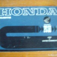 Coches y Motocicletas: MANUAL USO Y ENTRETENIMIENTO HONDA PS 50. Lote 78508165