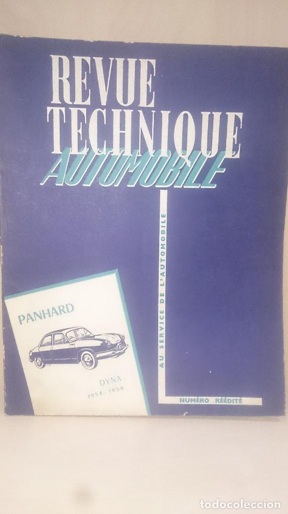PANHARD DYNA - REVUE TECHNIQUE AUTOMOBILE (Coches y Motocicletas Antiguas y Clásicas - Catálogos, Publicidad y Libros de mecánica)