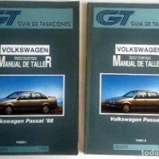 Coches y Motocicletas: 2 TOMOS - MANUAL DE TALLER VOLKSWAGEN PASSAT '88 - MAYO 1995.. Lote 79897709