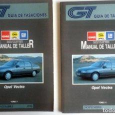 Coches y Motocicletas: 2 TOMOS - MANUAL DE TALLER OPEL VECTRA - NOVIEMBRE 1990.. Lote 79899641