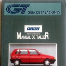 Coches y Motocicletas: MANUAL DE TALLER FIAT UNO - MARZO 1996.. Lote 79909401