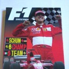 Coches y Motocicletas: ANUARIO F1 2003/2004. Lote 80091009