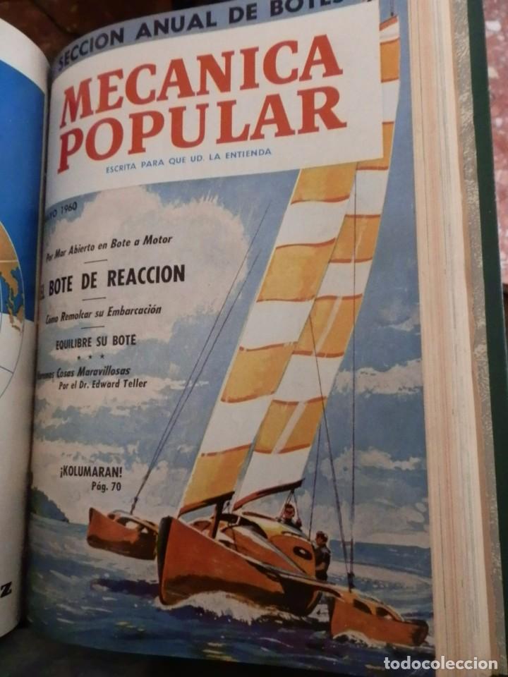 Coches y Motocicletas: MECANICA POPULAR, 5 VOL. 6 NUMEROS SEMESTRALES. ENERO 1958 A JUNIO 1960, TOTAL 30 REV. 165PP.CONSERV - Foto 4 - 80351397
