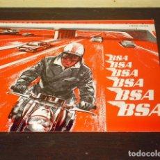 Coches y Motocicletas: CATÁLOGO ORIGINAL - B S A - AÑO 1966 -. Lote 80515061