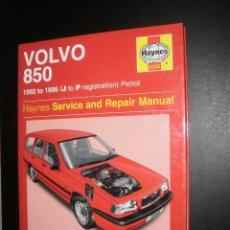 Coches y Motocicletas: MANUAL/LIBRO. VOLVO 850 (1992-1996) GASOLINA (PETROL). HAYNES, 2003, EN INGLÉS, MUY POCO USADO. Lote 80893379