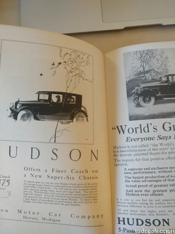 Coches y Motocicletas: The story of the hudson motor car 1909-1957 - Foto 2 - 81078951