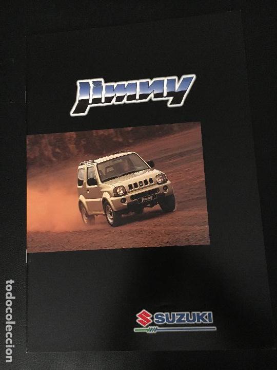 FOLLETO CATALOGO PUBLICIDAD ORIGINAL SUZUKI JIMMY (Coches y Motocicletas Antiguas y Clásicas - Catálogos, Publicidad y Libros de mecánica)