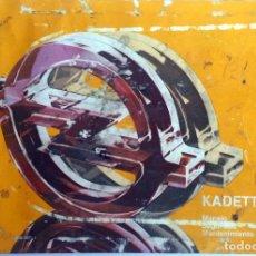 Coches y Motocicletas: MANUAL INSTRUCCIONES OFICIAL OPEL KADETT. DEL AÑO ??. (NO LO DICE). Lote 81677184