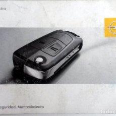 Coches y Motocicletas: MANUAL INSTRUCCIONES OFICIAL OPEL ASTRA. DEL AÑO 2006.. Lote 81678572